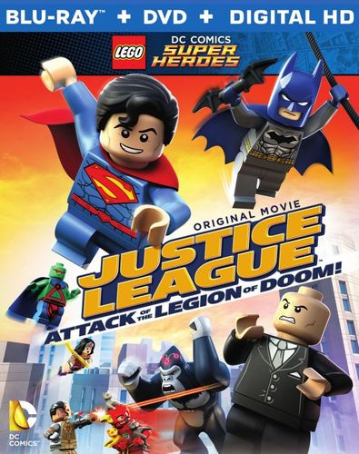 LEGO DC Comics Super Heroes: Justice League - Attack of the Legion of Doom [Blu-ray/DVD] 4296901
