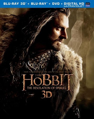 The Hobbit: The Desolation of Smaug [Includes Digital Copy] [UltraViolet] [3D] [Blu-ray/DVD] [Blu-ray/Blu-ray 3D/DVD] [2013] 4307067