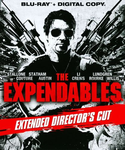 The Expendables [Extended Director's Cut] [Includes Digital Copy] [Blu-ray] [2010] 4316014