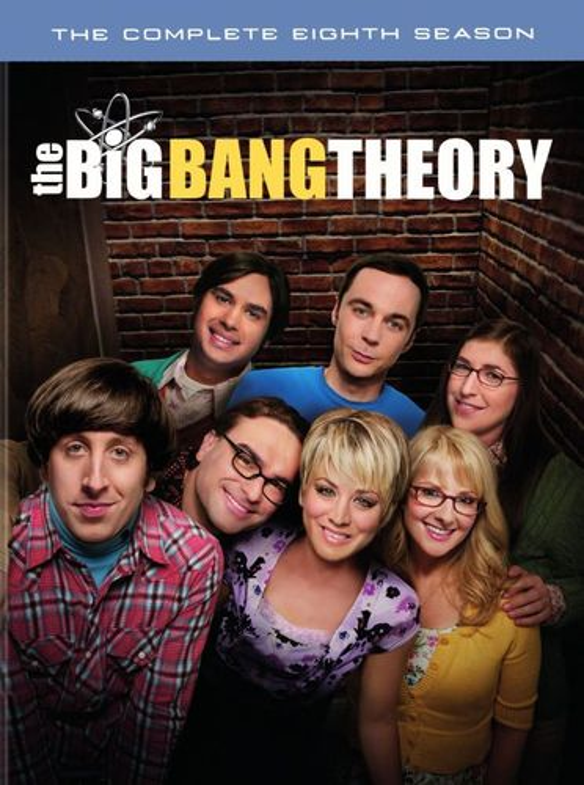 The Big Bang Theory: The Complete Eighth Season [DVD] 4330601