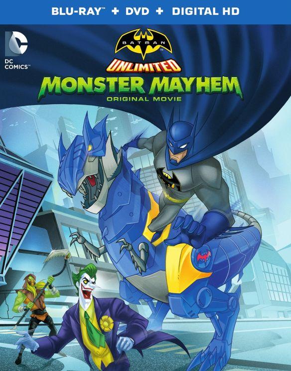 Batman Unlimited: Monster Mayhem [Includes Digital Copy] [Blu-ray/DVD] 4330900