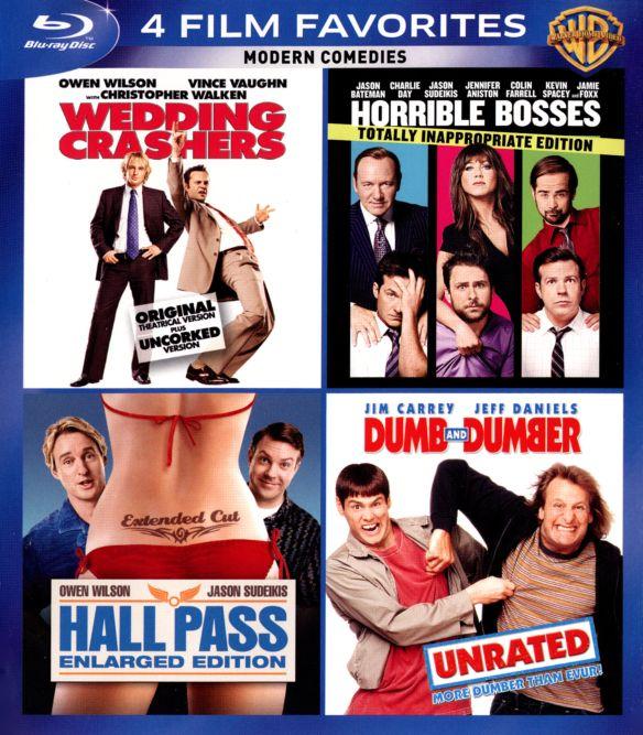 Modern Comedies: 4 Film Favorites [4 Discs] [Blu-ray] 4331751