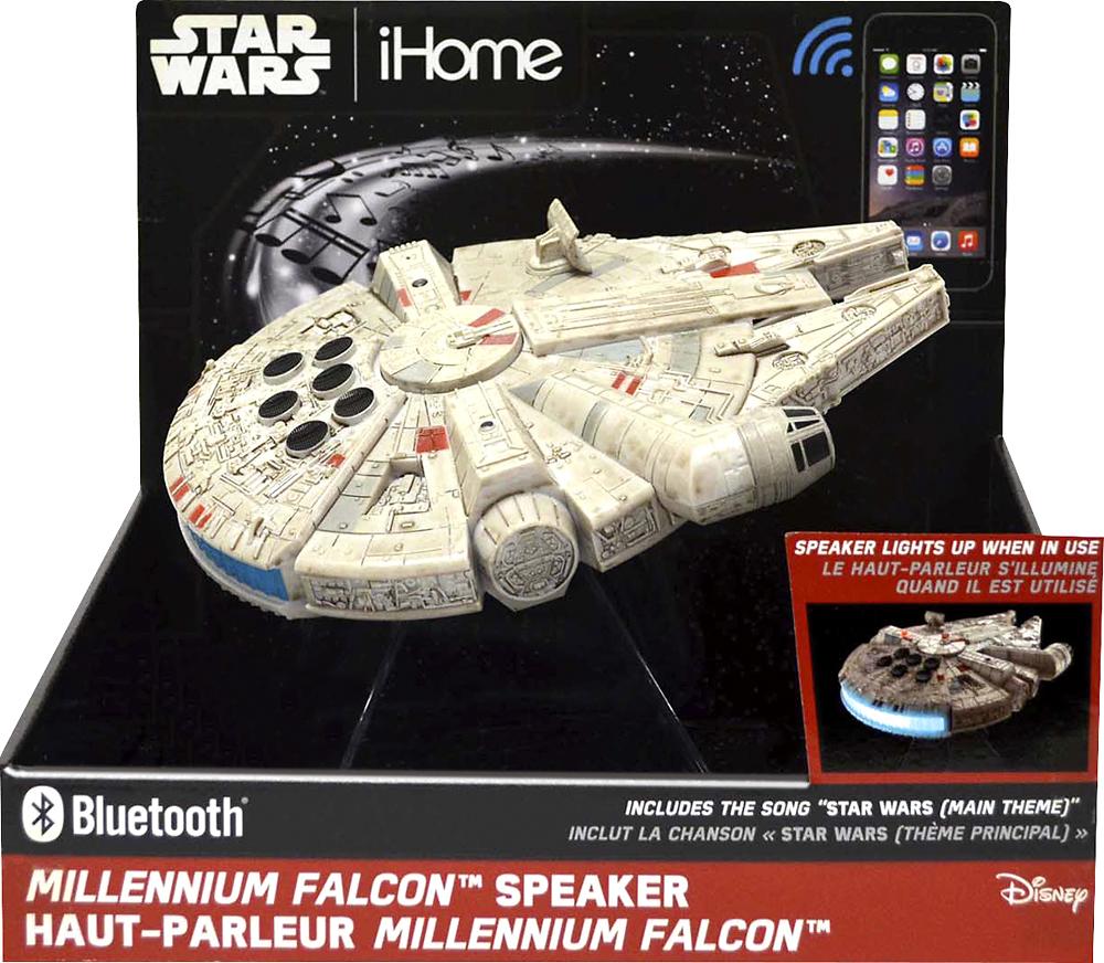 iHome Star Wars Hero Star Ship Portable Bluetooth Speaker White 92298925394