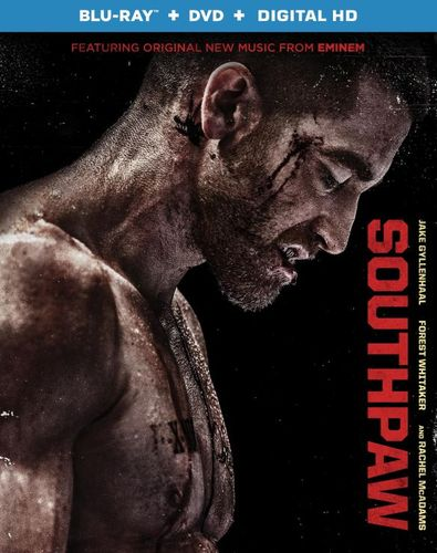 Southpaw [Includes Digital Copy] [Blu-ray/DVD] [2015] 4339400