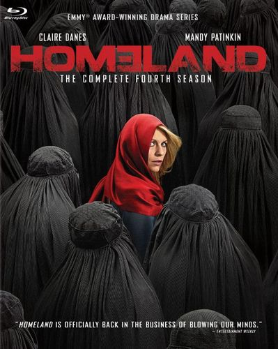 Homeland: The Complete Fourth Season [Blu-ray] [3 Discs] 4339407