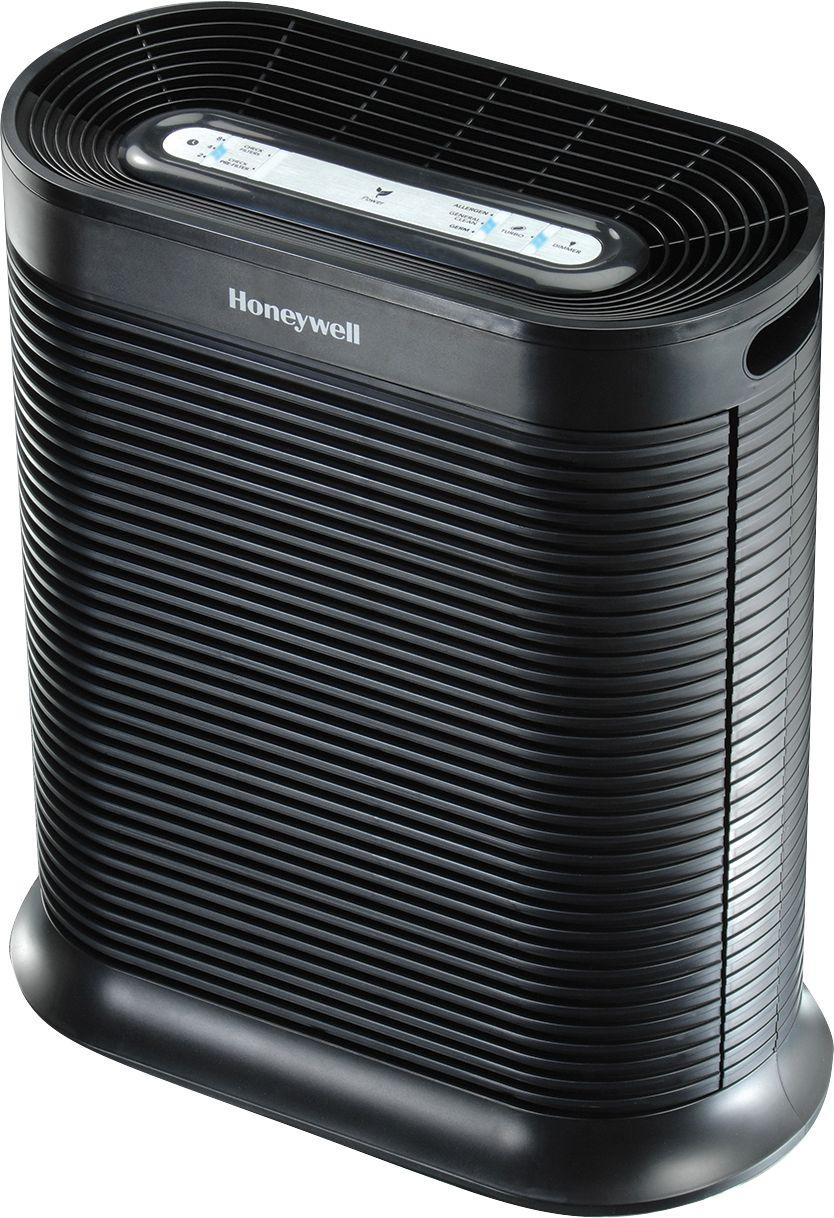 Honeywell - True HEPA 465 Sq. Ft. Air Purifier - Black