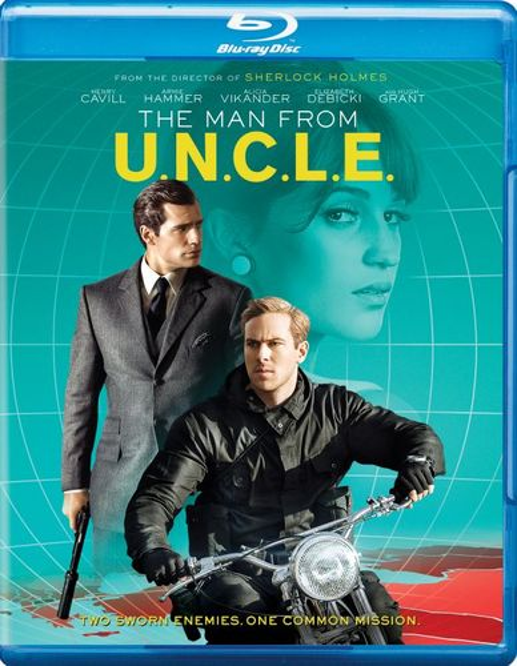 The Man From U.N.C.L.E. [Blu-ray/DVD] [2015] 4350924