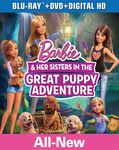 Barbie and Her Sisters in the Great Puppy Adventure [Blu-ray] [2015] 4358540