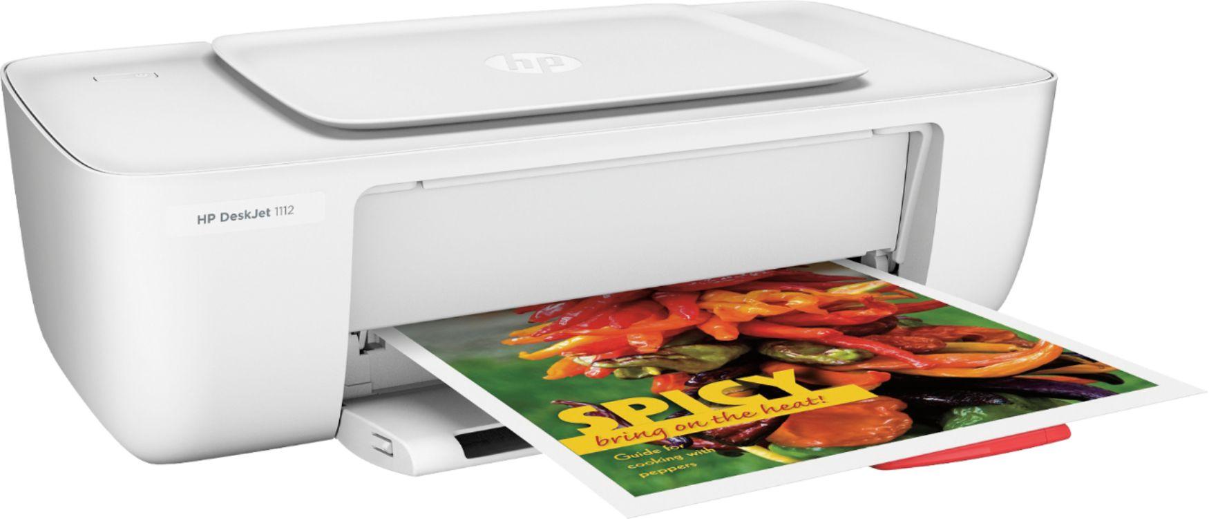 HP F5S23A#B1H DeskJet 1112 Printer White