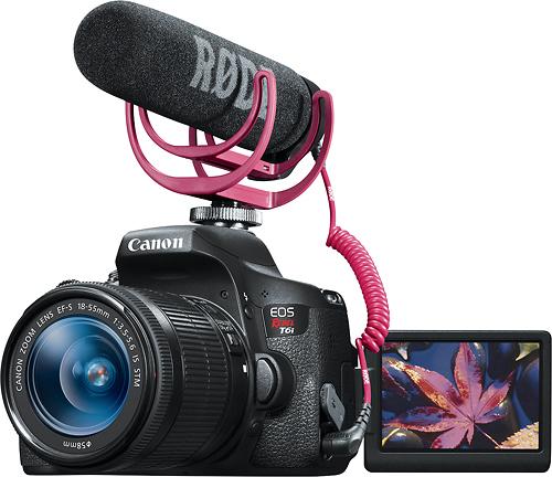 Canon - EOS T6i DSLR...