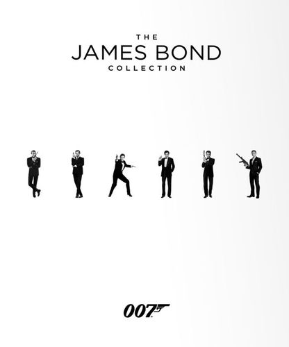 The James Bond Collection [Blu-ray] 4367300