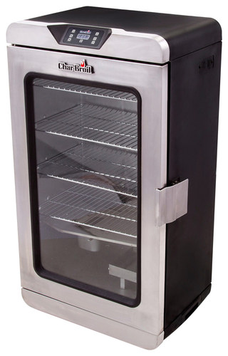 Char-Broil - 1000 Deluxe Electric Smoker - Silver
