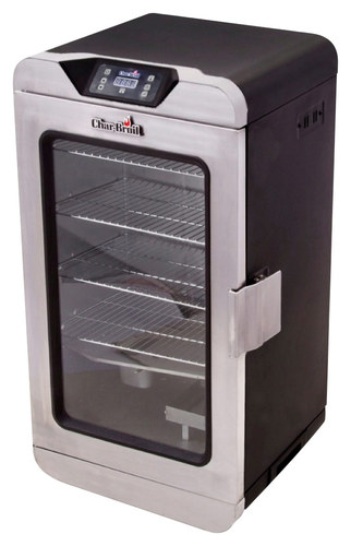 Char-Broil® - 725 Deluxe Electric Smoker - Silver