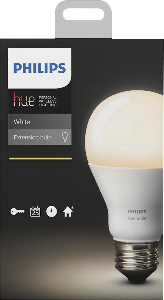 Philips 455295 hue A19 Smart LED Light Bulb White Only