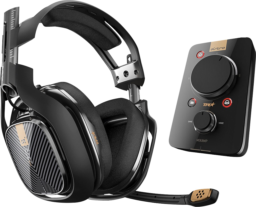 Astro Gaming - A40 Wired Surround Sound Gaming Headset + MIXAMP Pro ...