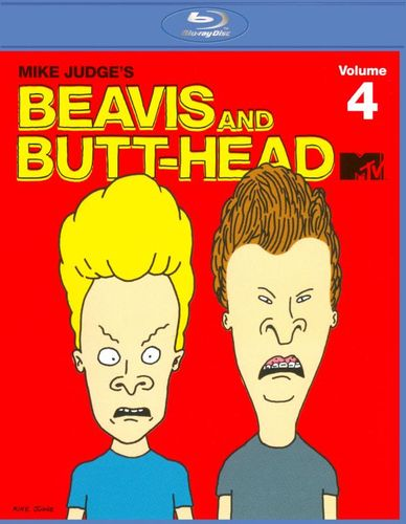 Beavis and Butt-Head, Vol. 4 [Blu-ray] 4383048