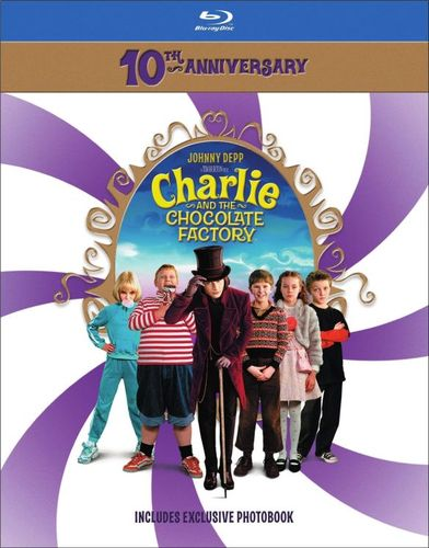 Charlie and the Chocolate Factory [10th Anniversary] [Blu-ray] [2005] 4384034