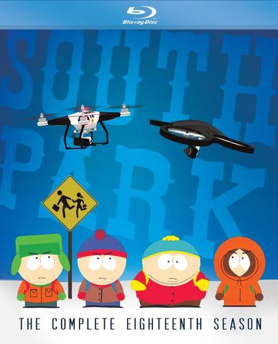South Park: The Complete Eighteenth Season [Blu-ray] [2 Discs] 4401207