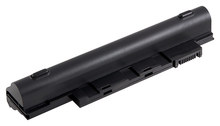 DENAQ NM-AL10A31 Lithium-Ion Battery for Select Acer Aspire One Laptops Black