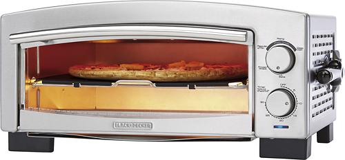 Black & Decker - Pizza Oven - Silver