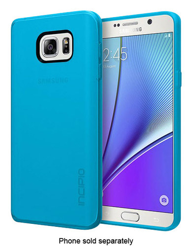 Incipio - NGP Soft Shell Case for Samsung Galaxy Note 5 Cell Phones - Blue