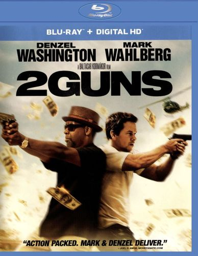 2 Guns [Includes Digital Copy] [UltraViolet] [Blu-ray/DVD] [2 Discs] [2013] 4429436