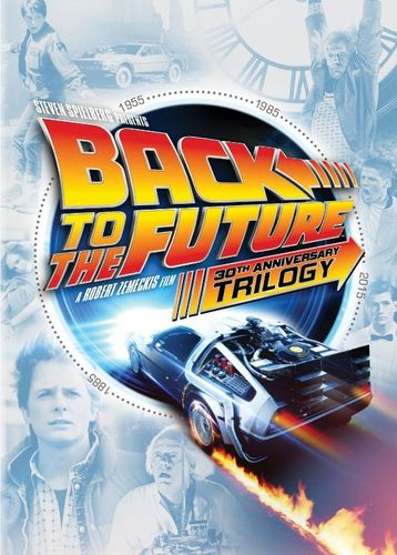 Back to the Future: 30th Anniversary Trilogy [5 Discs] [DVD] 4429450