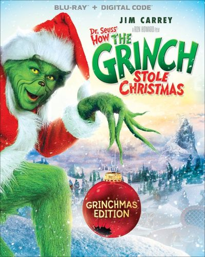 Dr. Seuss' How the Grinch Stole Christmas: Grinchmas Edition [Blu-ray] [2000] 4429458