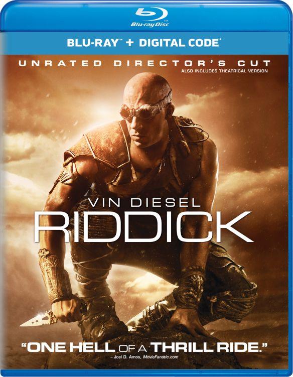 Riddick [Includes Digital Copy] [UltraViolet] [Blu-ray] [2013] 4429463