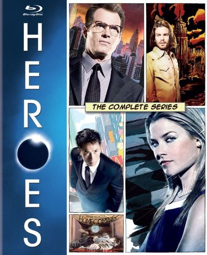 Heroes: The Complete Series [18 Discs] [Blu-ray] 4429474