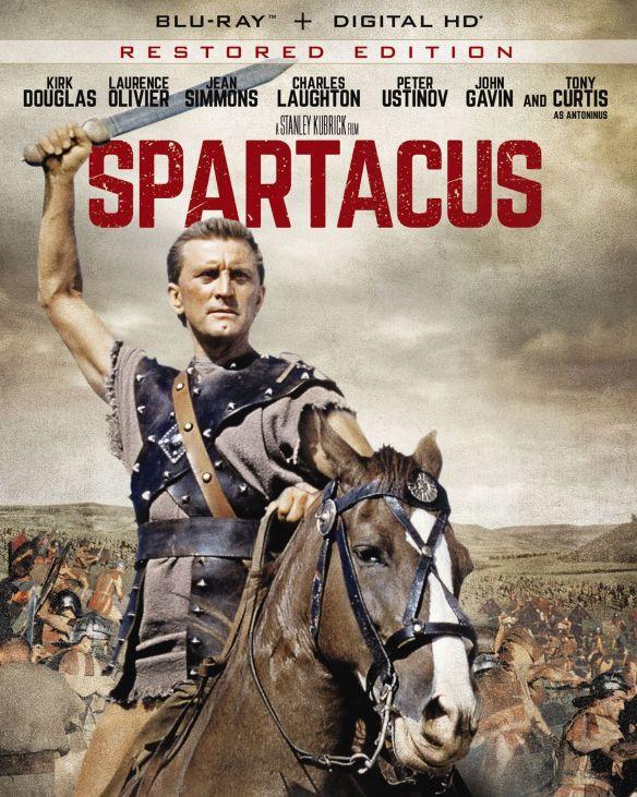 Spartacus [Includes Digital Copy] [UltraViolet] [Blu-ray] [1960] 4429475