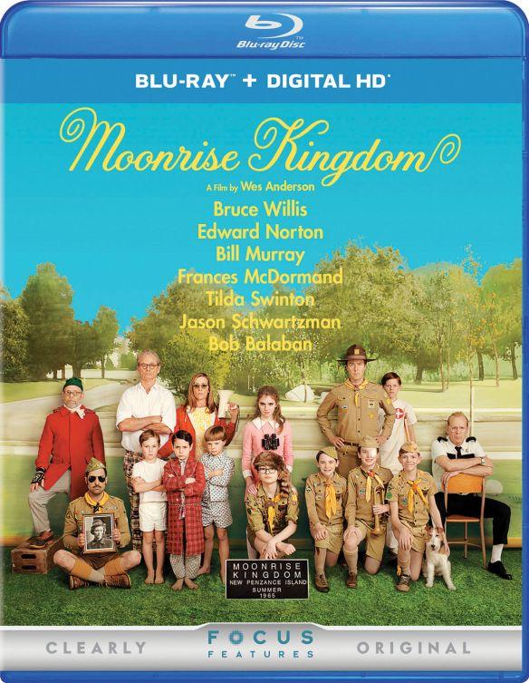 Moonrise Kingdom [Includes Digital Copy] [UltraViolet] [Blu-ray] [2012] 4434812
