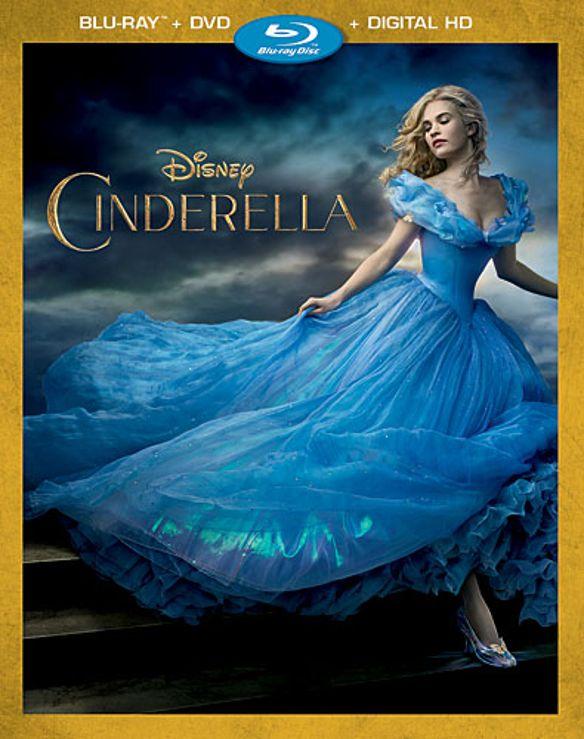 Cinderella [Includes Digital Copy] [Blu-ray/DVD] [2015] 4438017