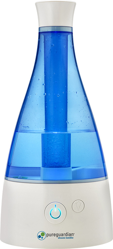 PureGuardian - 0.5 Gal. Ultrasonic Cool Mist Humidifier - Blue/White 4451400