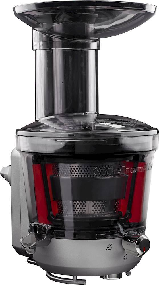 KitchenAid Juicer and Sauce Attachment for KitchenAid Stand Mixers Black/Silver KSM1JA