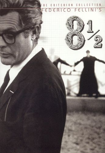 8 1/2 [Criterion Collection] [2 Discs] [DVD] [1963] 4477293