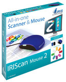 IRIS IRIScan Mouse 2 Portable Scanner Black/Blue 458124