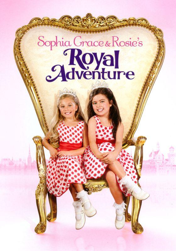 Sophia Grace and Rosie's Royal Adventure [DVD] [2014] 4485147