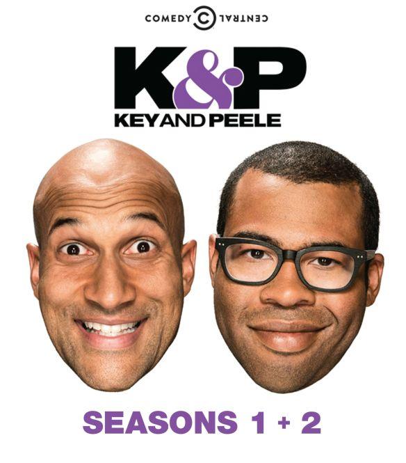 Key & Peele: Seasons 1 & 2 [4 Discs] [Blu-ray] 4488002