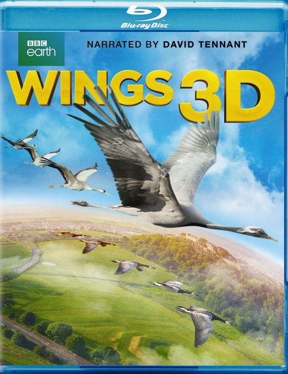 Wings 3D [3D] [Blu-ray] [Blu-ray/Blu-ray 3D] [2014] 4489401
