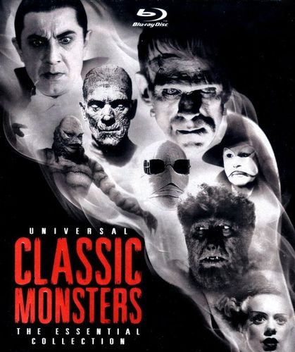 Universal Classic Monsters: The Essential Collection [Blu-ray] 4494603