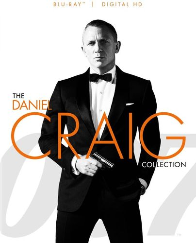 007: The Daniel Craig Collection [Blu-ray] 4501525
