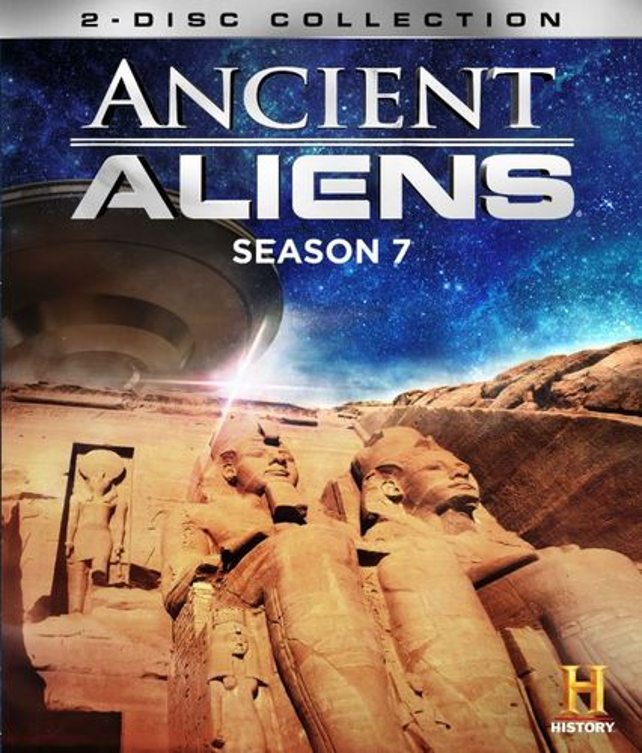 Ancient Aliens: Season 7, Vol. 1 [3 Discs] [Blu-ray] 4501527