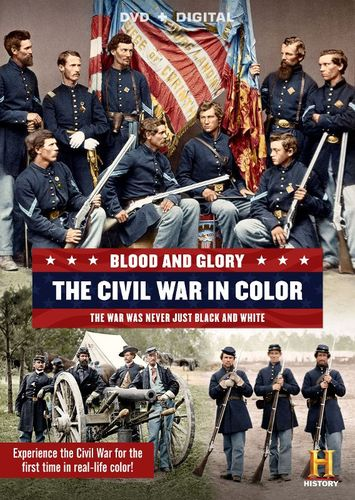Blood and Glory: The Civil War in Color [2 Discs] [DVD] 4501556