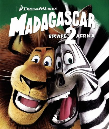 Madagascar: Escape 2 Africa [2 Discs] [Blu-ray/DVD] [2008] 4501600