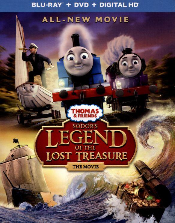 Thomas & Friends: Sodor's Legend of the Lost Treasure [Blu-ray] 4502701