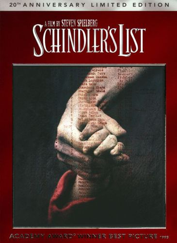 Schindler's List [20th Anniversary] [2 Discs] [Includes Digital Copy] [UltraViolet] [DVD] [1993] 4502801