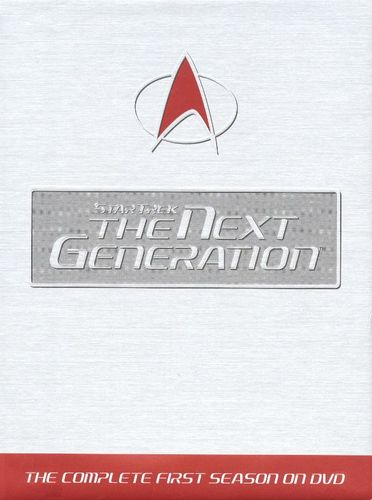 Star Trek: The Next Generation: The Complete First Season [7 Discs] [DVD] 4503638