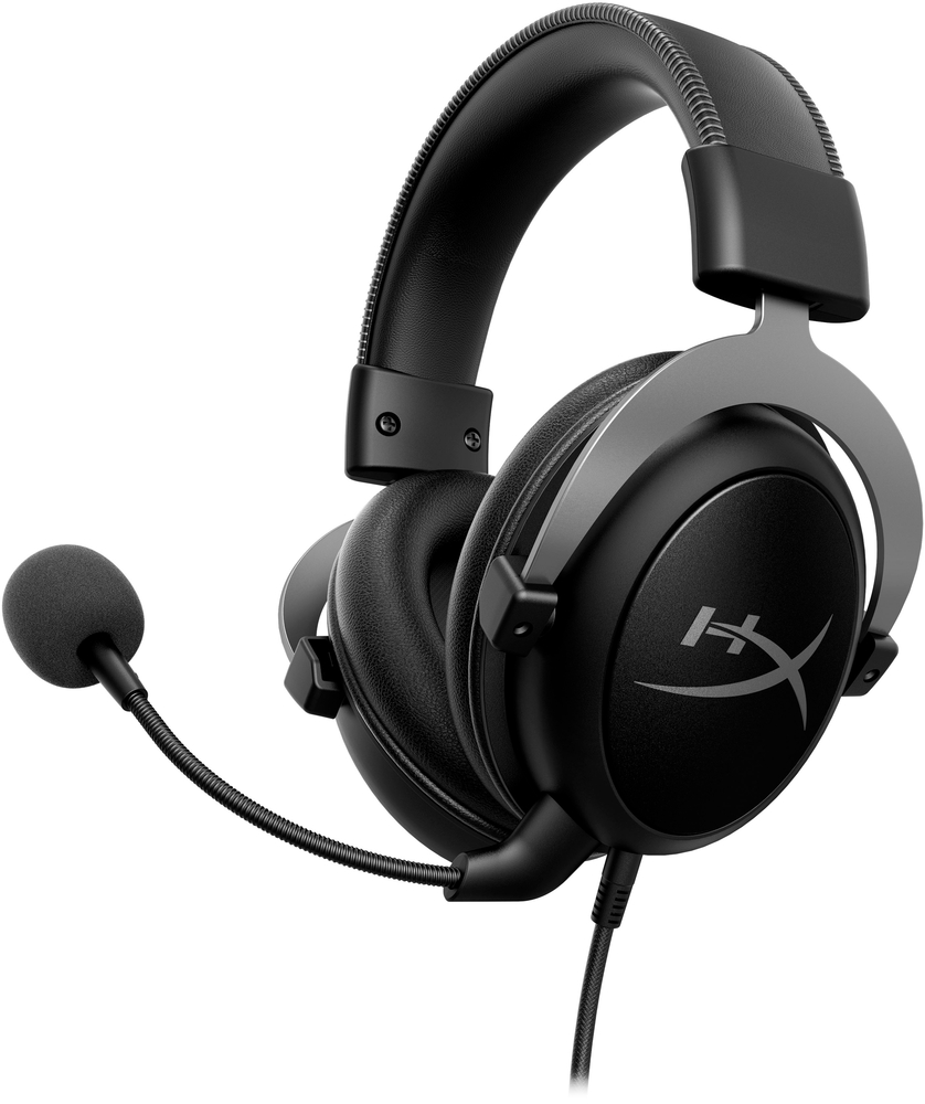 HyperX KHX-HSCP-GM Cloud II Wired Gaming Headset Black/Gunmetal