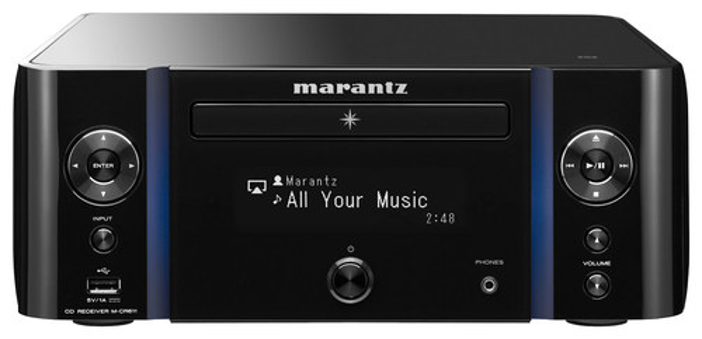 Marantz - Network-Ready CD Audio Receiver - Black